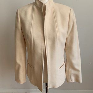 MAG by Magashoni wool cashmere blend Sz S Ivory